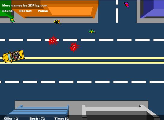 Flash Based Carmagedon - Флаш версия на Кармагедон