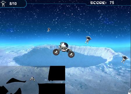 Moon Buggy - Игра с коли на лунна тематика :D