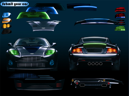 Pimp My Aston Martin Online - Тунинговай моя Остин Мартин!